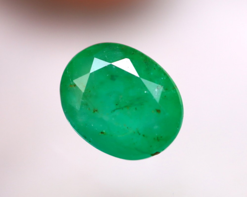 Emerald 3.43Ct Natural Colombia Green Emerald DN43