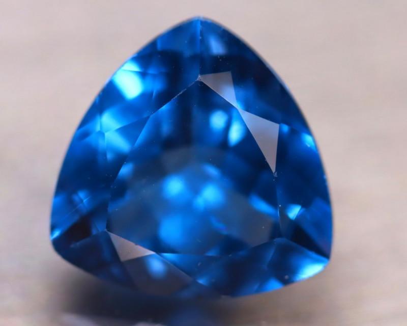 Fluorite 10.37Ct Natural IF Vivid Bule Color Change Fluorite DN46/A49