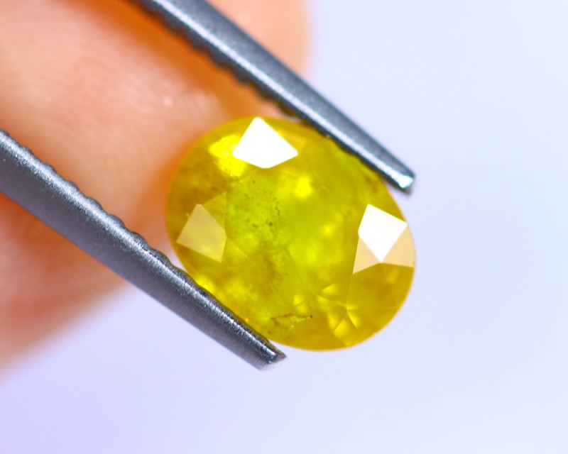 1.80cts Yellow Colour Sapphire / RD756