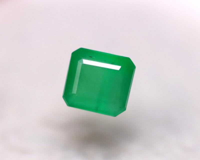 Emerald 1.60Ct Natural Colombia Green Emerald D1610