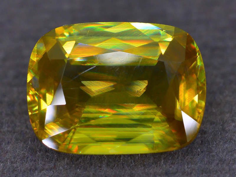 Rare AAA Fire 4.20 ct Sphene Sku-53