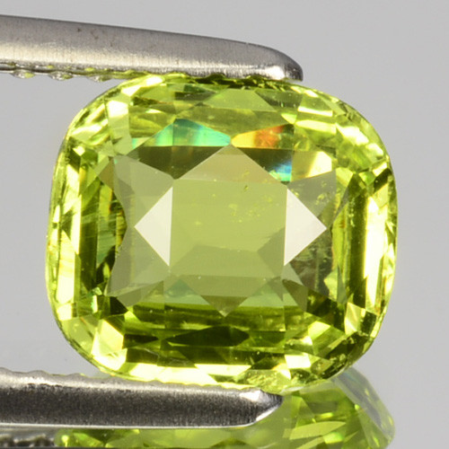 ~GORGEOUS~ 2.09 Cts Natural Chrysoberyl Radium Green Cushion Cut Sri Lanka