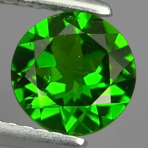 1.25 Cts MARVELOUS RARE CUSHION NATURAL TOP GREEN- CHROME DIOPSIDE