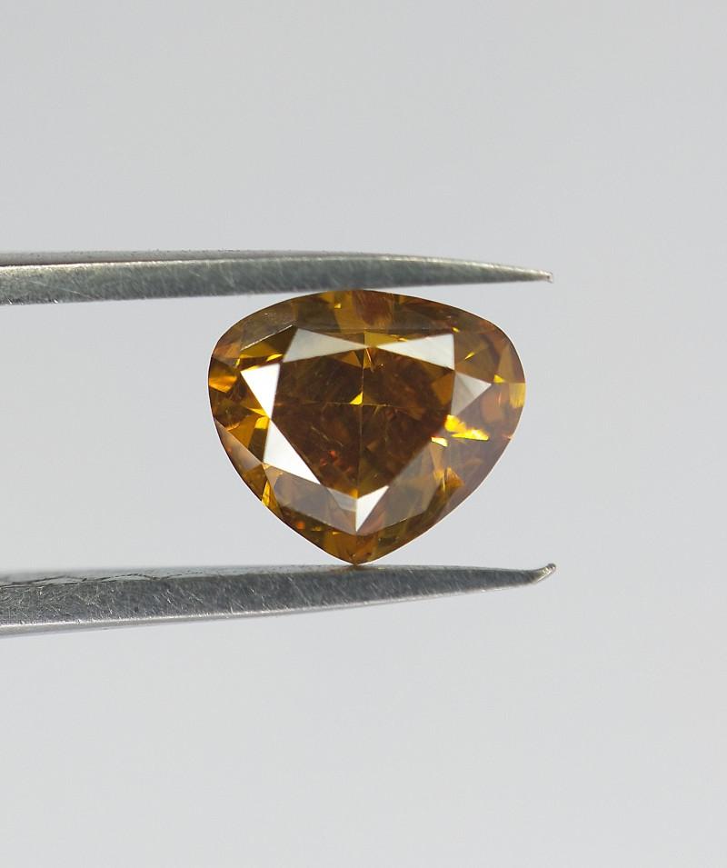 Fancy Shape Diamond , Modified Pear Brilliant Cut , 0.46 cts