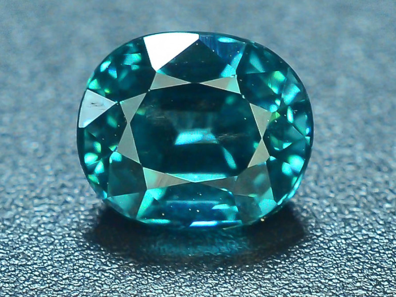 Top Grade 0.80 ct Indicolite Tourmaline ~K