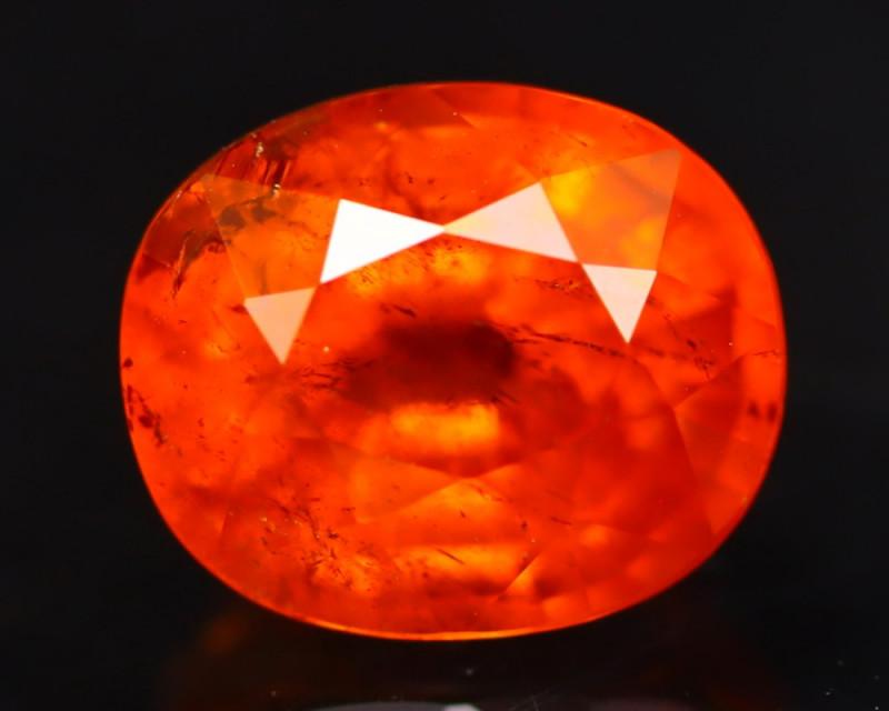 Spessartite 2.86Ct Natural Vivid Orange Spessartite Garnet B1703