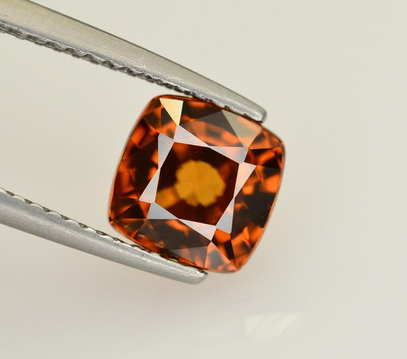 2.65 Ct Amazing Color Natural Brown Zircon