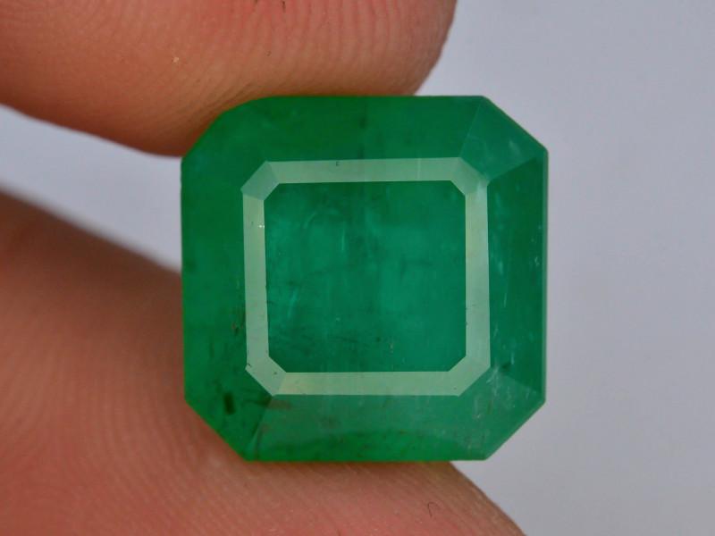 CIGTL~Certified 7.51 ct Huge Size Natural Panjshir Emerald ~ Afghanistan~T