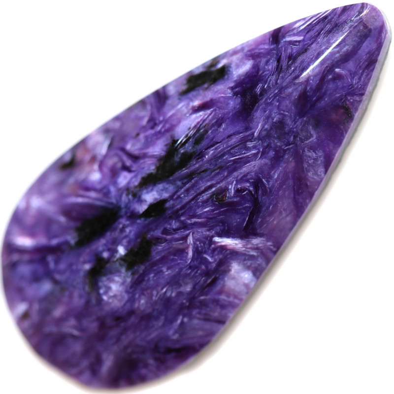 32.20 CTS CHAROITE STONE STUNNING -RUSSIA-[STS1850]
