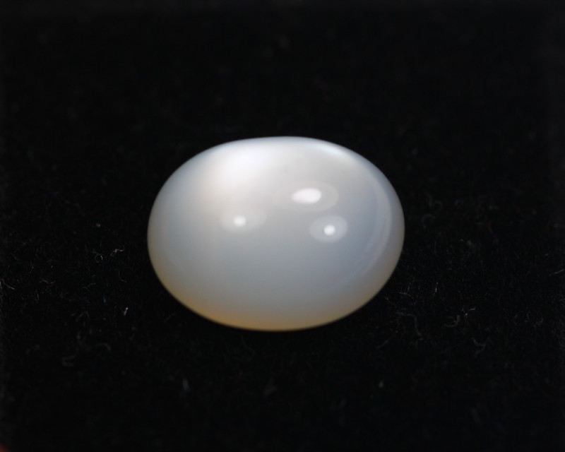 3.08ct Natural White MoonStone Cabochon Lot GW5593