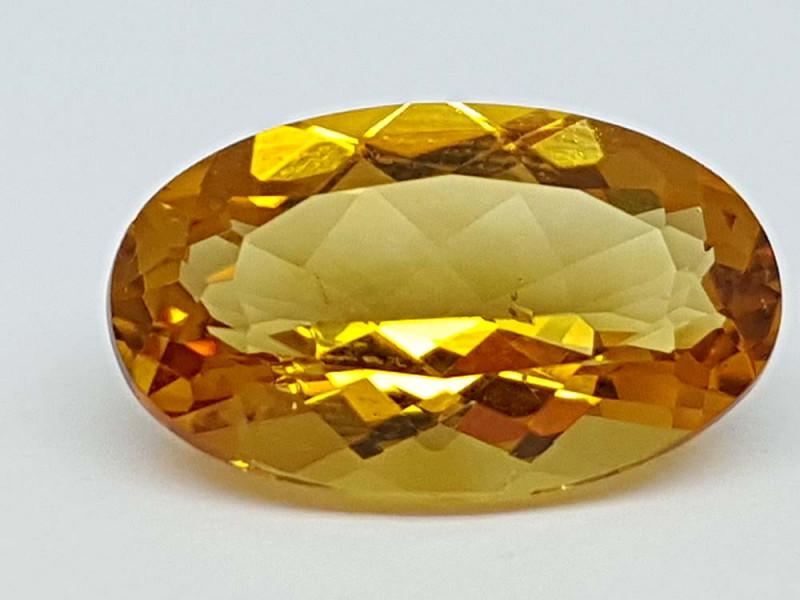 3.85Crt Madeira Citrine Stone JICT39