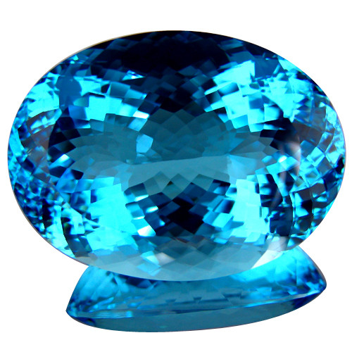 77.60 ct.100% Natural Earth Mined Top Quality Blue Topaz Brazil