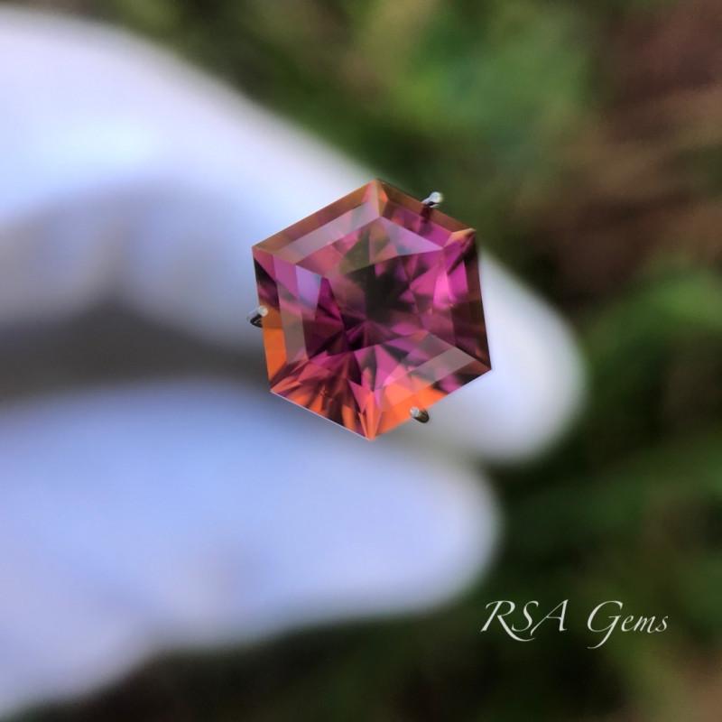 Tourmaline Sunset - 4.52 carats