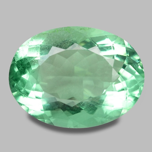 15.35 Cts Amazing Rare Fancy Green Natural Flourite  Loose Gemstone