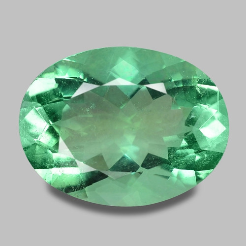 12.36 Cts Amazing Rare Fancy Green Natural Flourite  Loose Gemstone