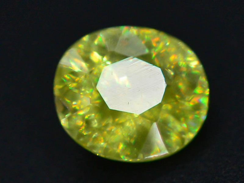 Rare AAA Fire 0.70 ct Sphene ~ A G AQ