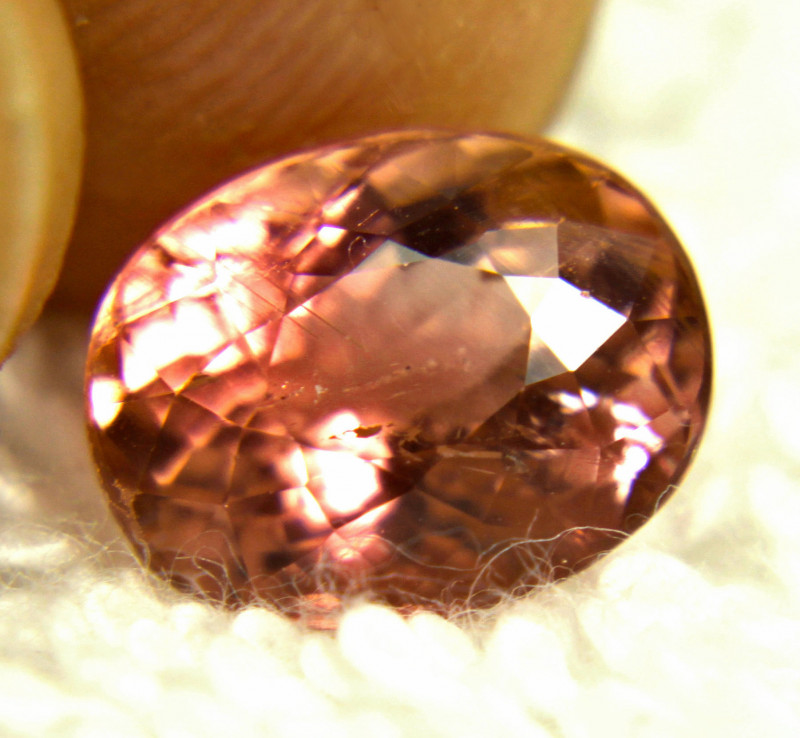 3.66 Carat Pink SI African Tourmaline - Gorgeous