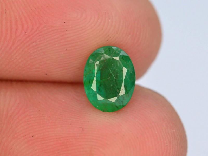 AAA Grade Top Color 1.0 ct Zambian Emerald