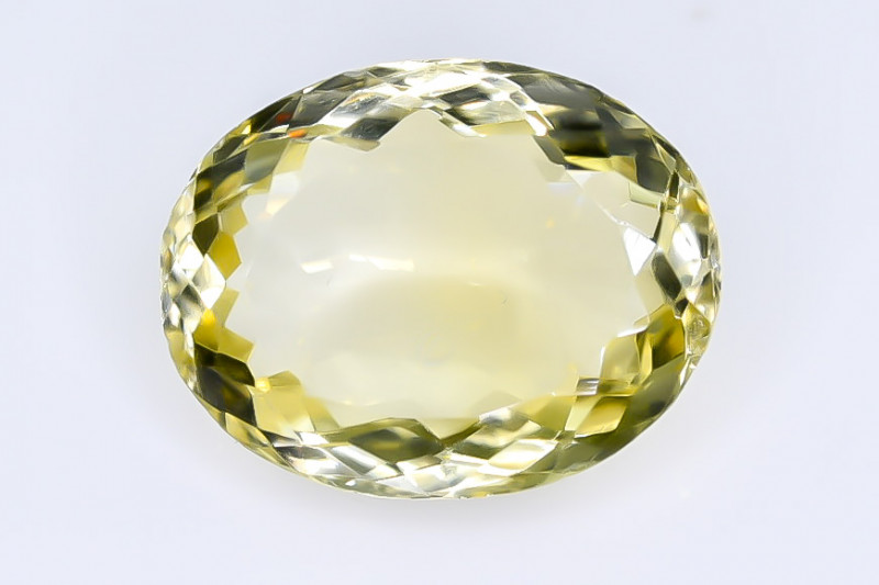 7.17 Crt Lemon Quartz Faceted Gemstone (Rk-9)