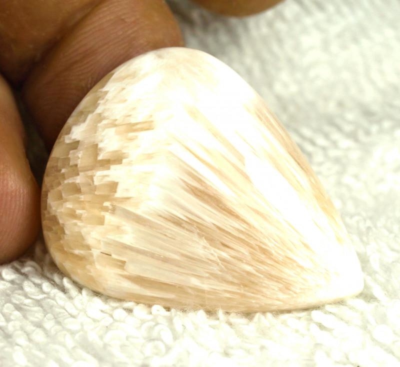 33.2 Carat Natural Scolecite Pendant Stone - Gorgeous