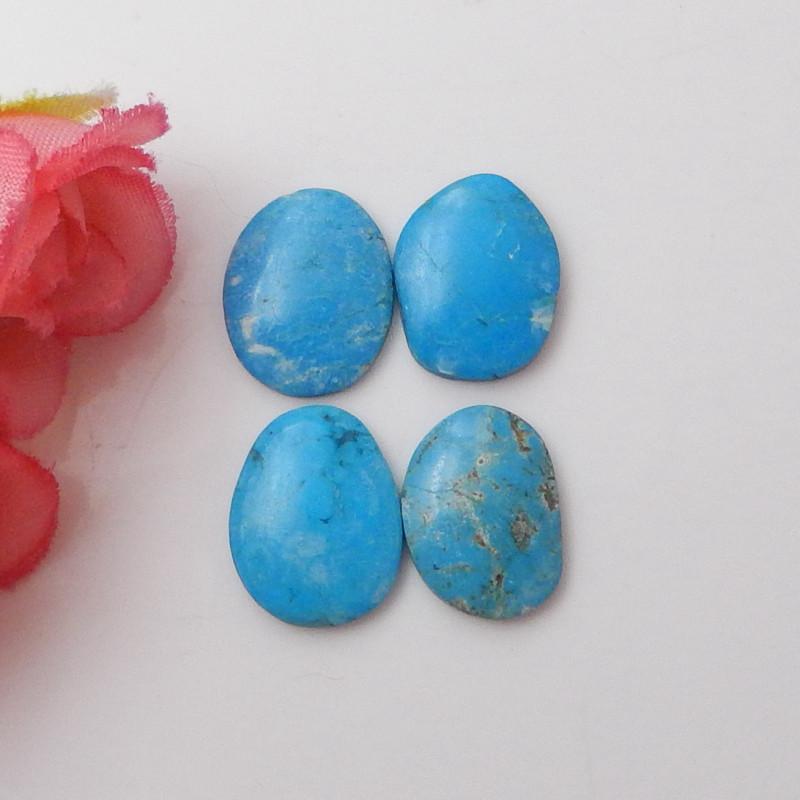 3pcs Turquoise ,Handmade Gemstone ,Turquoise Cabochons ,Lucky Stone F569