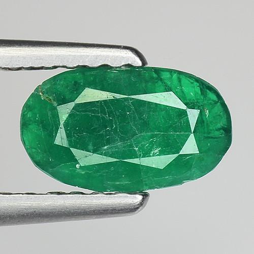 0.68 Cts Gorgeous Color Emerald ~ Swat ES11