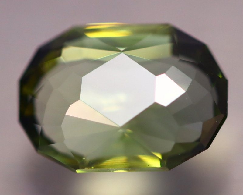3.42Ct AAA Grade Master Cutting Green Color Mozambique Tourmaline AN269