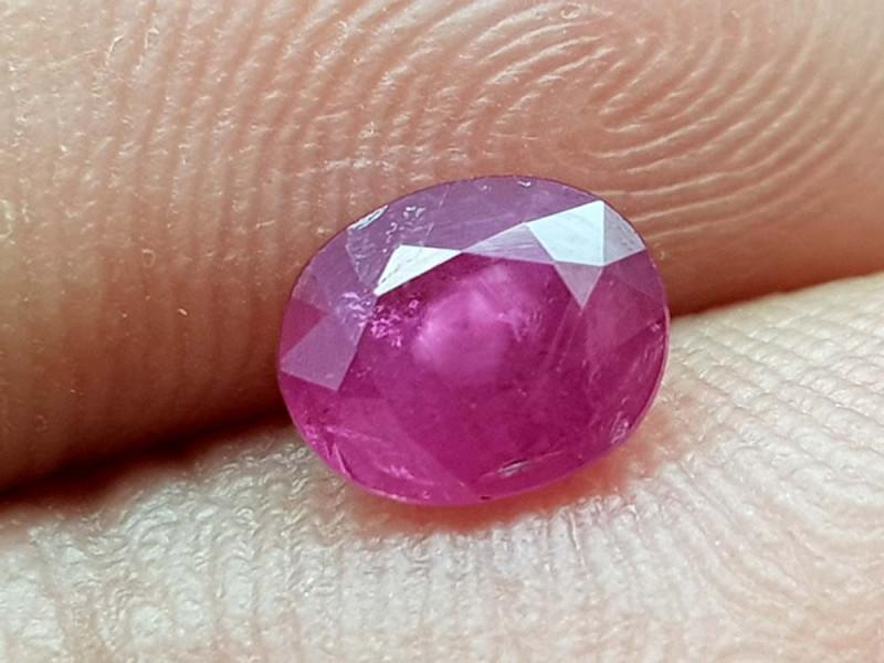 0.95Crt Ruby Natural Gemstones JI106
