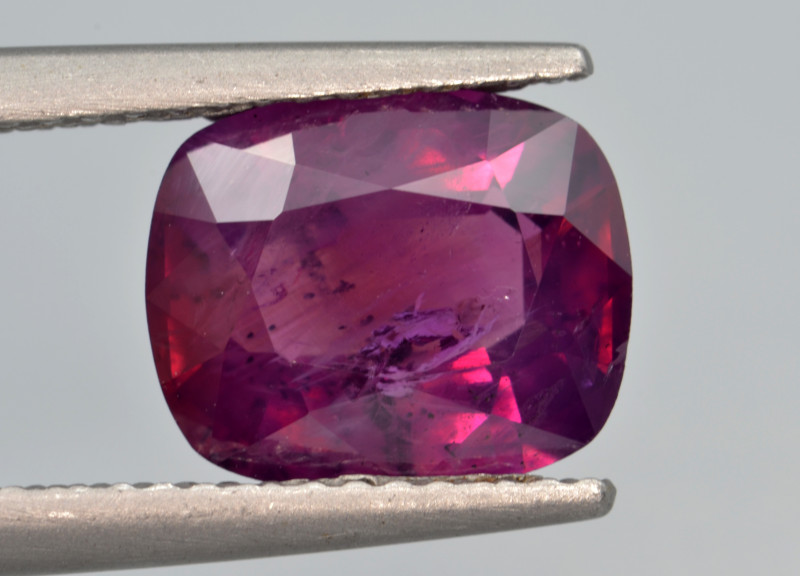 Natural Ruby 3.10 Cts from Kashmir, Pakistan