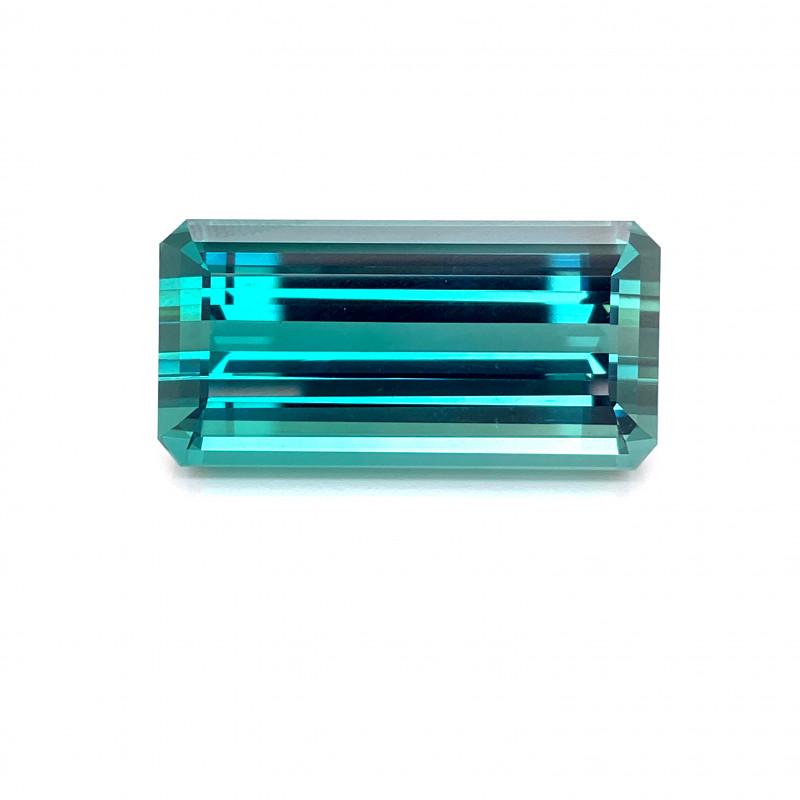 81 Cert Natural Collector Piece Indicolite Tourmaline Gemstone