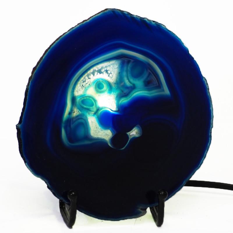 0.20 Kilo Agate crystal lamp Specimen CF 760