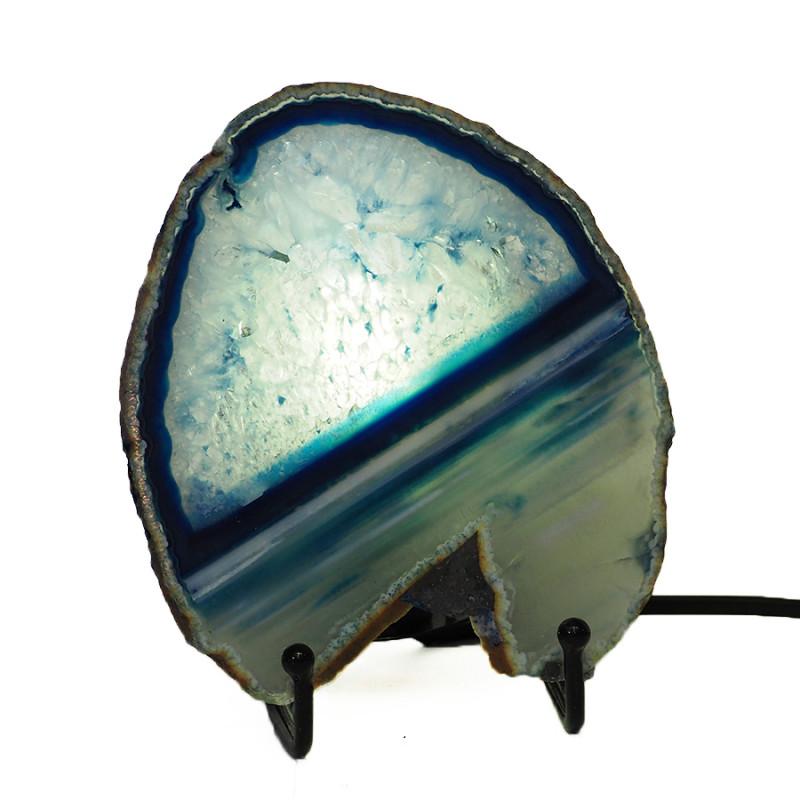0.25 Kilo Agate crystal lamp Specimen CF 762