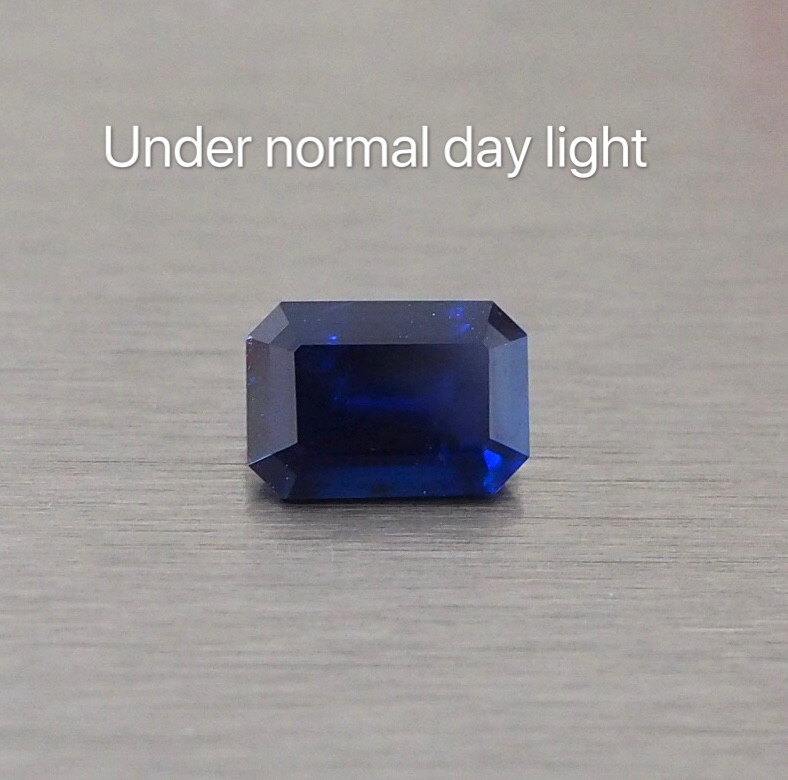 2.93ct Natural blue sapphire