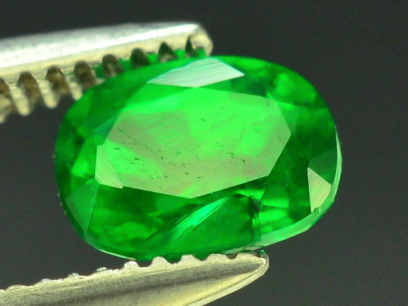 Amzaing Color 0.45 ct Natural Emerald~Swat