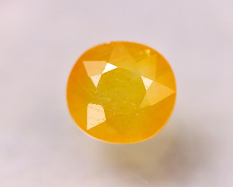 8.89ct Yellow Sapphire Oval Cut Lot GW5767