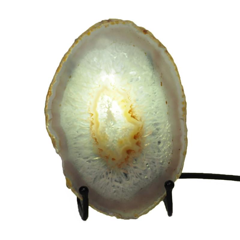0.20 Kilo Agate crystal lamp Specimen CF788