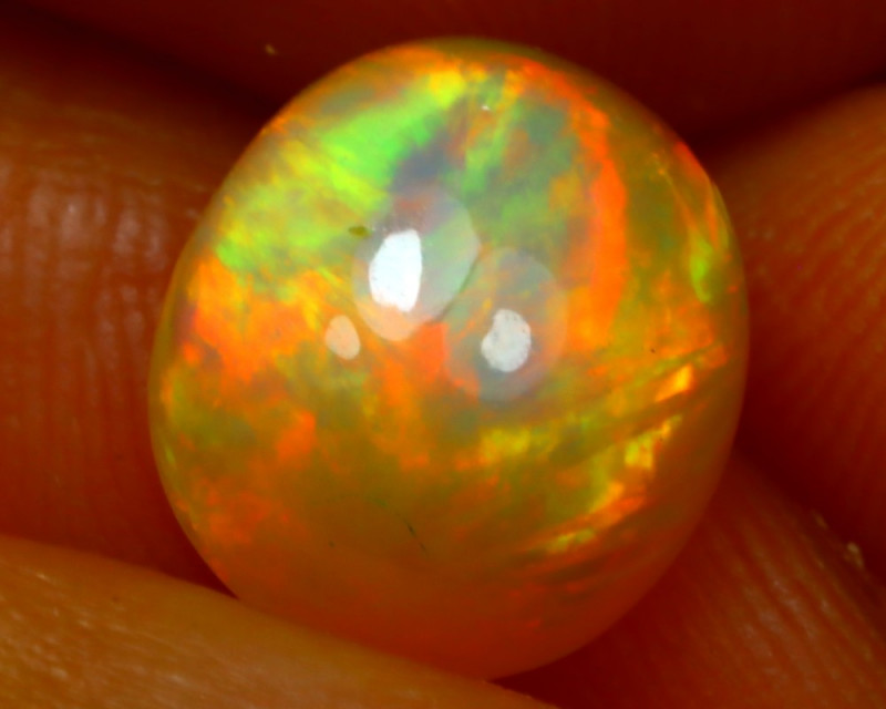 Welo Opal 2.75Ct Natural Ethiopian Play of Color Opal ER19