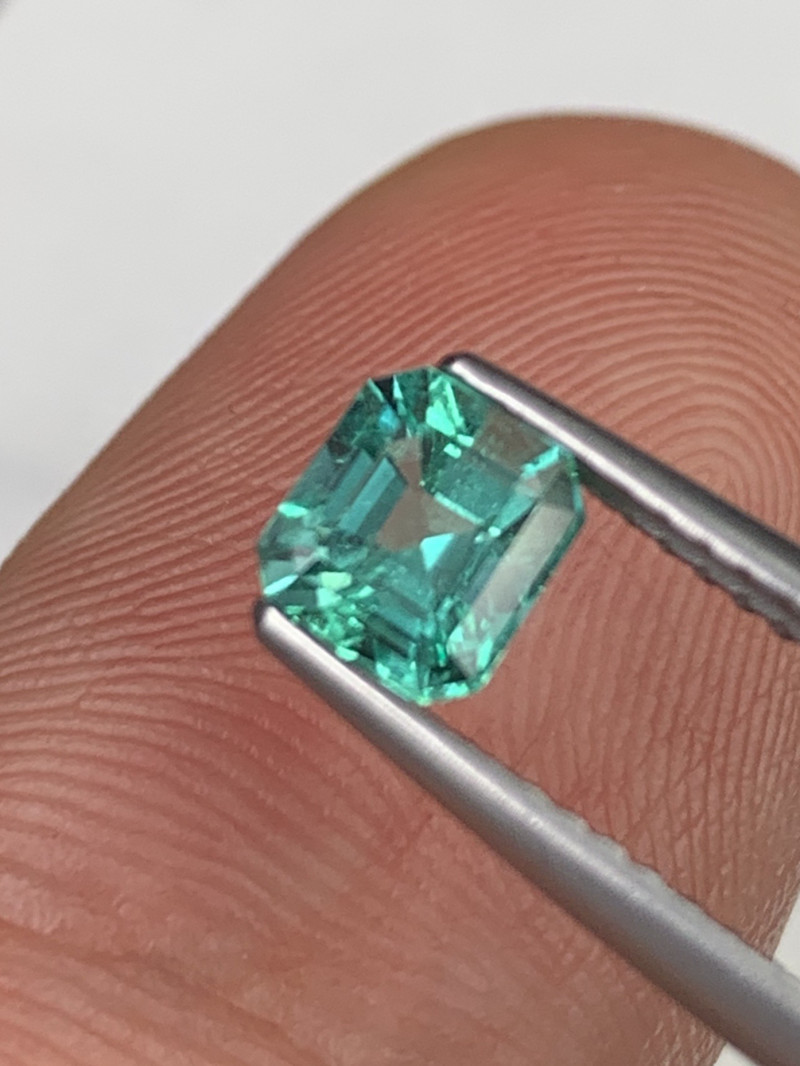 Colombian Natural Emerald AAAA+ Quality Amazing Luster Top Color 0.64 Cts