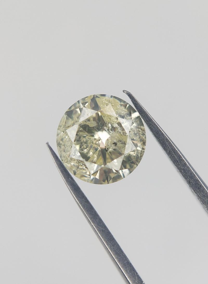 0.47 Carat , Rare Natural Diamond , Light color Diamond