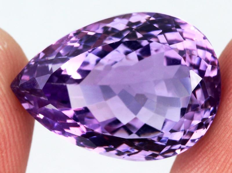 19.69 ct. Natural Top Nice Purple Amethyst Unheated Brazil