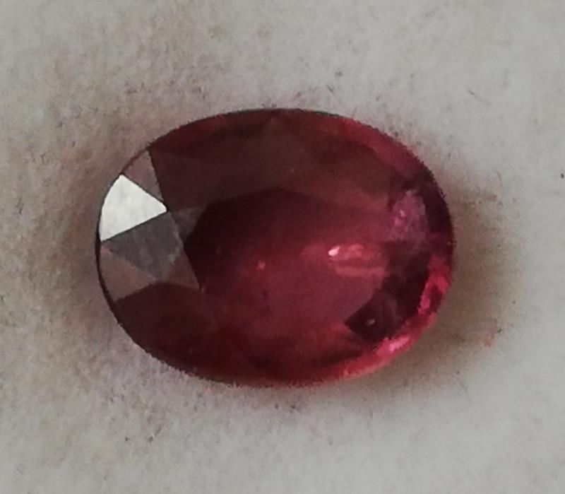 Rubin, 1.205ct, great coloured beautiful clean stone!