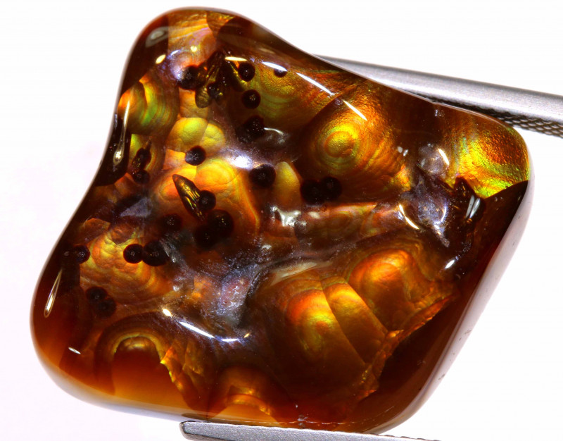 Mexican Fire Agate Stone 28.90 cts I-2