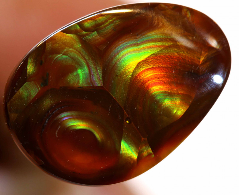 Mexican Fire Agate Stone 5.45 cts I-22
