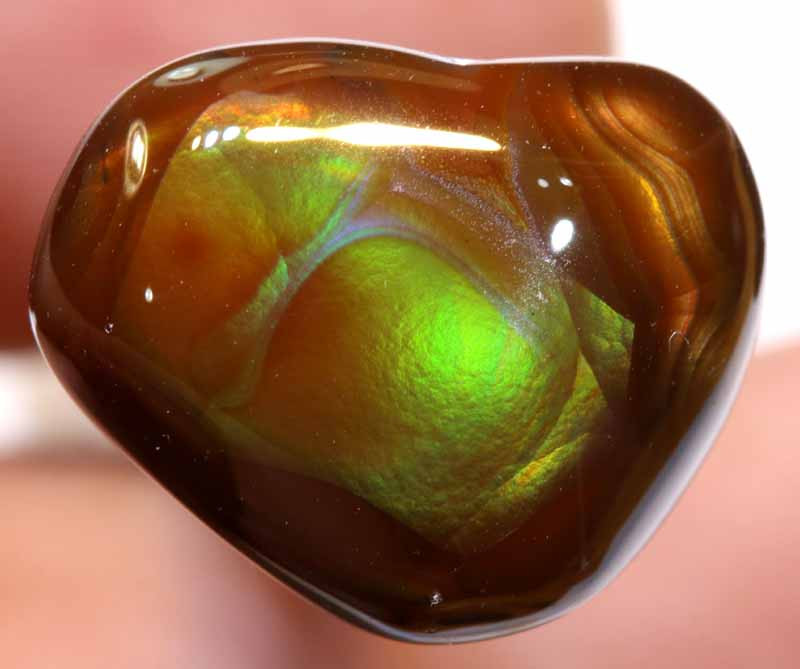 Mexican Fire Agate Stone 10.50 cts I-38