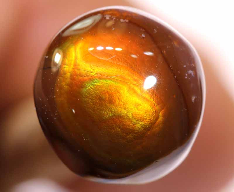 Mexican Fire Agate Stone 4.30 cts I-42