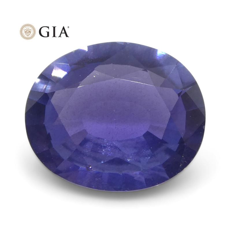 1.31 ct Oval Color Change Sapphire GIA Certified Burma (Myanmar) Unheated