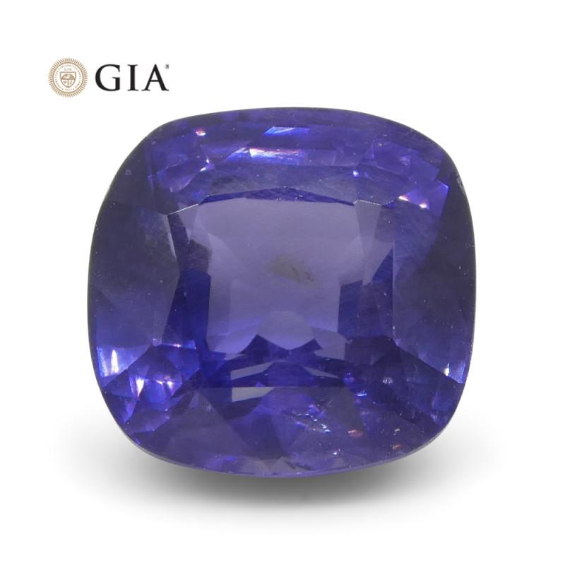 2.13 ct Cushion Color Change Sapphire GIA Certified Sri Lankan Unheated