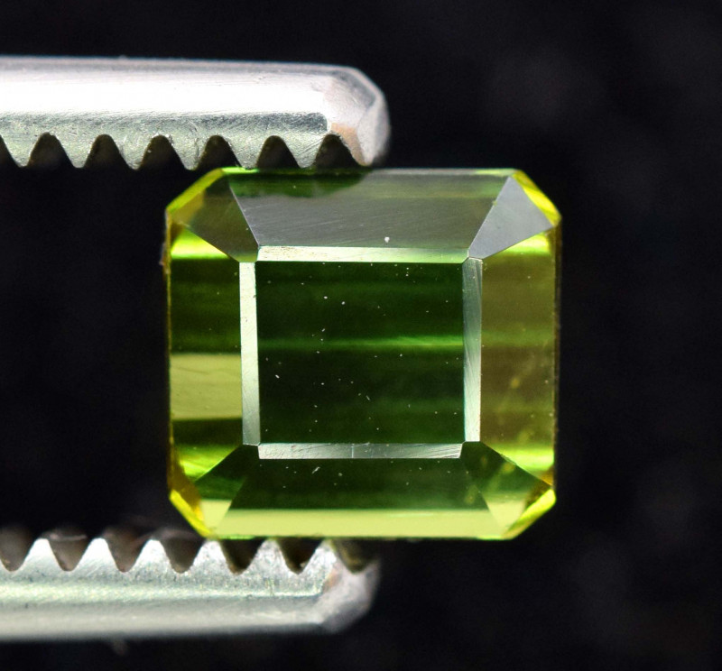 1.40 Carats Green Color Tourmaline From Afghanistan