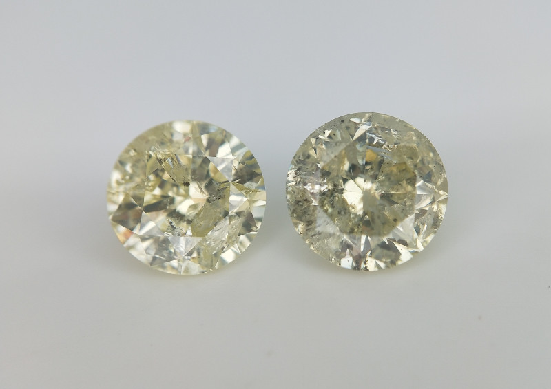 1.38 cts Natural diamonds for Jewelry , Yellow Natural Diamonds