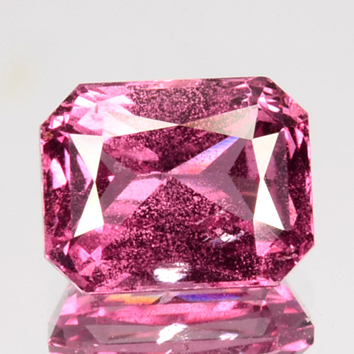 ~AIG~ 1.60 Cts Natural Padparadscha Sapphire Unheated Octagon Sri Lanka